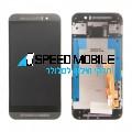 מסך שחור עם מסגרת HTC ONE M9