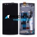 מסך שחור עם מסגרת OnePlus One