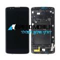 מסך שחור עם מסגרת LG K7 X210