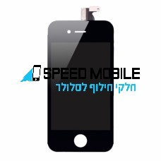 מסך שחור לאייפון 4