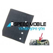 מדבקת חיישן לאייפון 4 שחורה