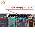 רכיב טעינה U2 לאייפון 5S/C