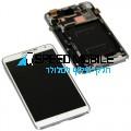 מסך לבן עם מסגרת לגלקסי נוט 3 N9005